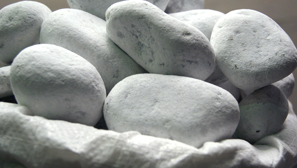 D corer son jardin avec des galets blancs le marbre de for Idees de jardin avec des galets